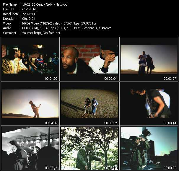 50 Cent - Nelly - Nas video vob