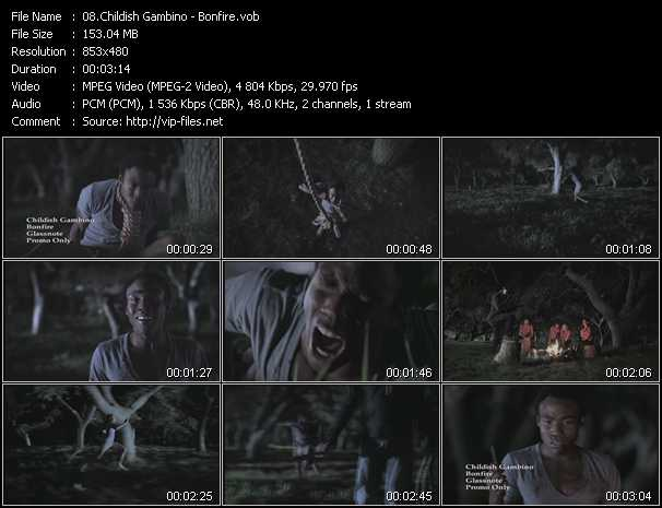 Childish Gambino - Bonfire - Download Music Video Clip ...