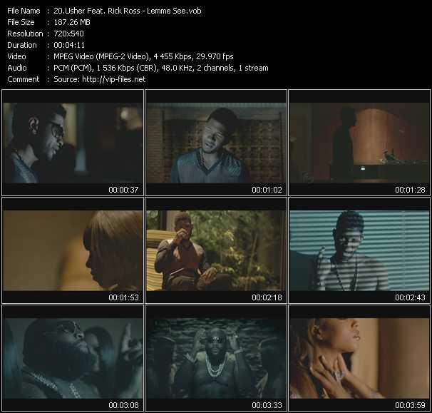 Usher Feat Rick Ross - Lemme See