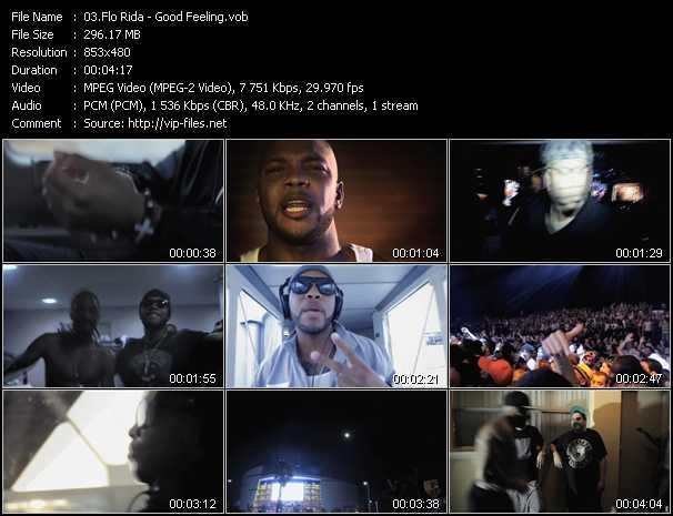 Flo Rida video vob