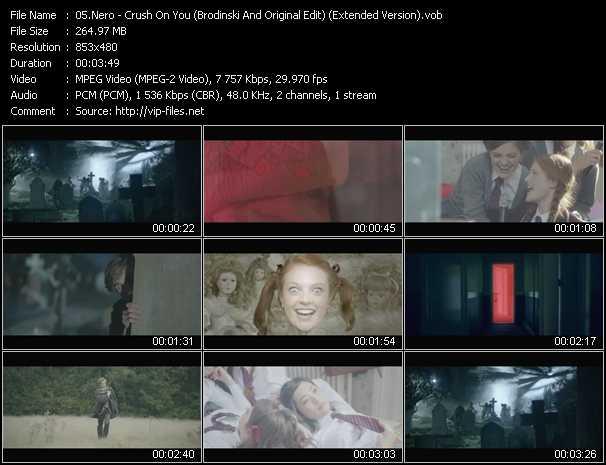 Nero clips musicaux vob