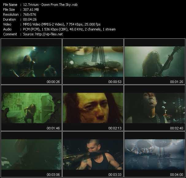 Trivium clips musicaux vob