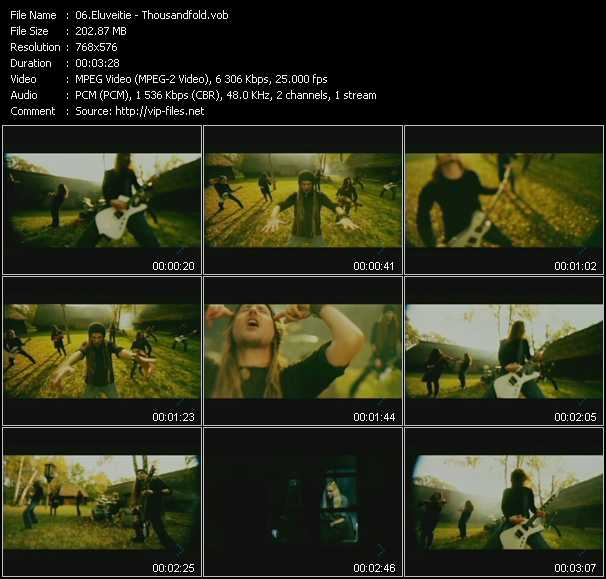 Eluveitie video vob