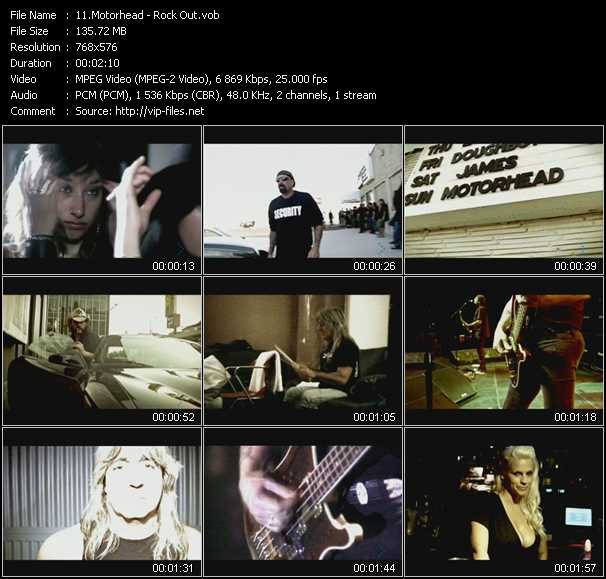 Motorhead video vob
