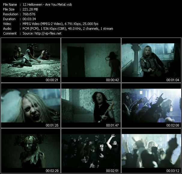 Helloween video vob