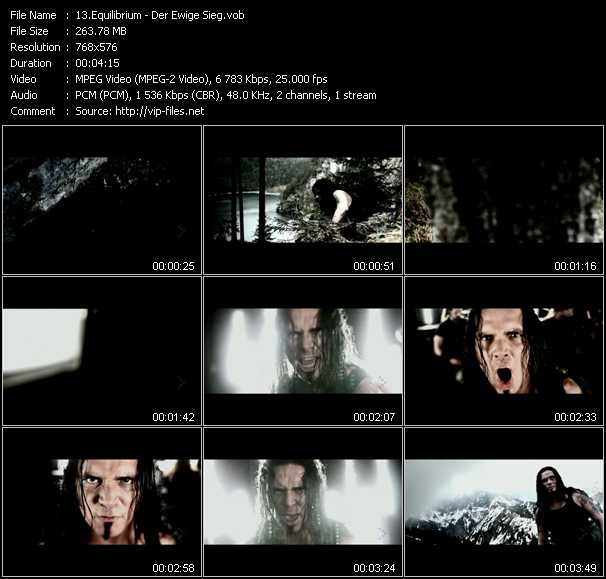 Equilibrium video vob