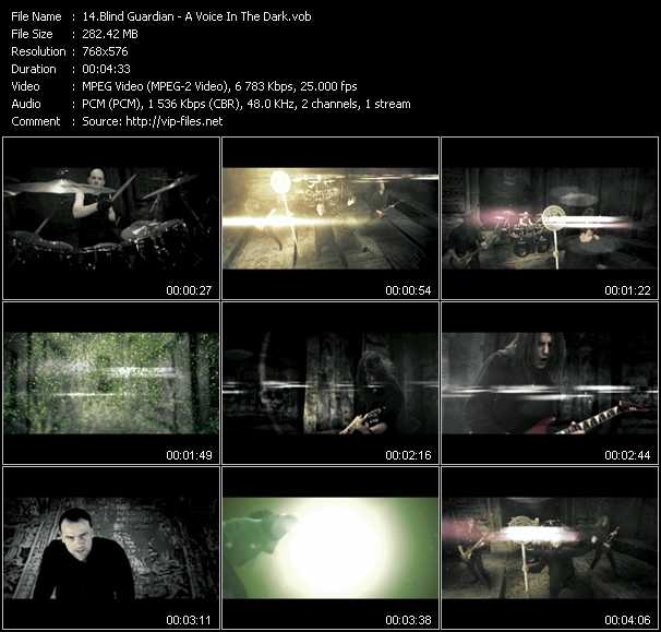 Blind Guardian video vob