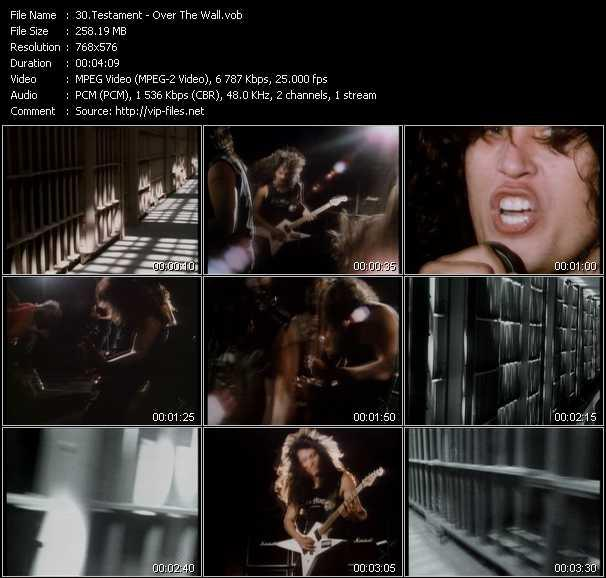 Testament video vob