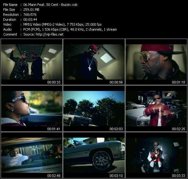 Mann Feat. 50 Cent clips musicaux vob