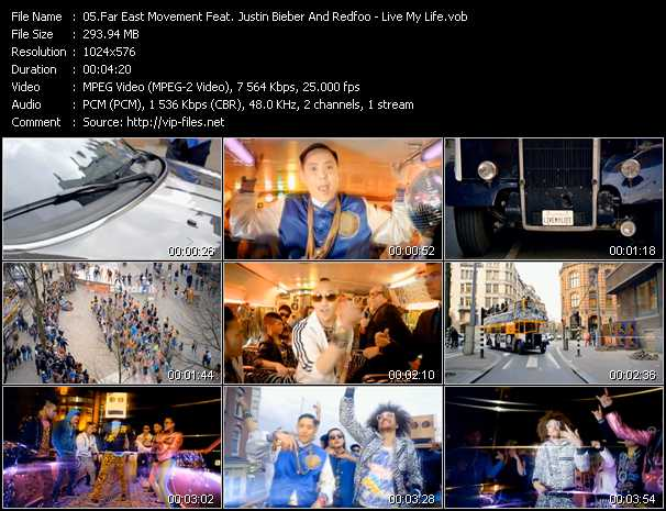 download far east movement live my life