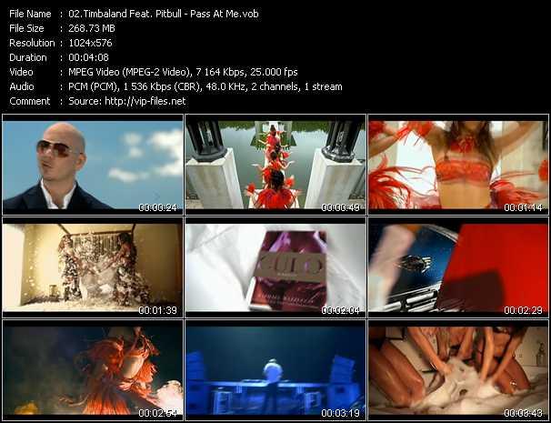 Timbaland Feat. Pitbull видеоклип vob