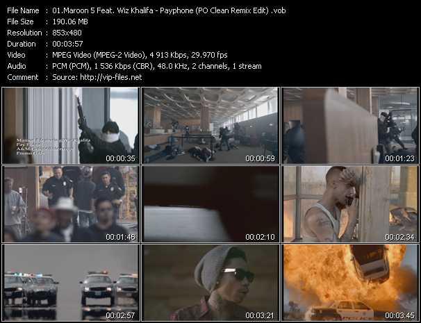 Maroon 5 Feat. Wiz Khalifa video vob