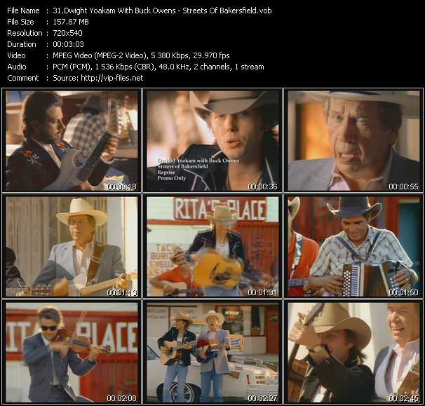 Screenshot of Music Video Dwight Yoakam And Buck Owens - Streets Of Bakersfield