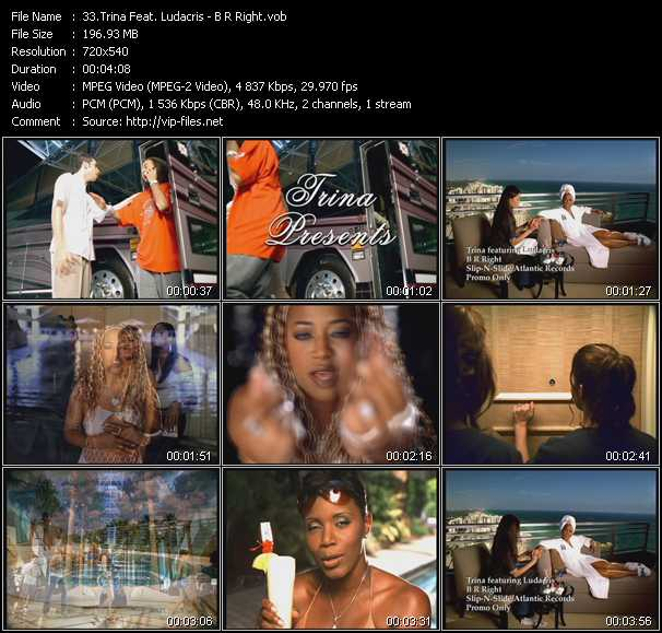 Trina Feat. Ludacris video vob