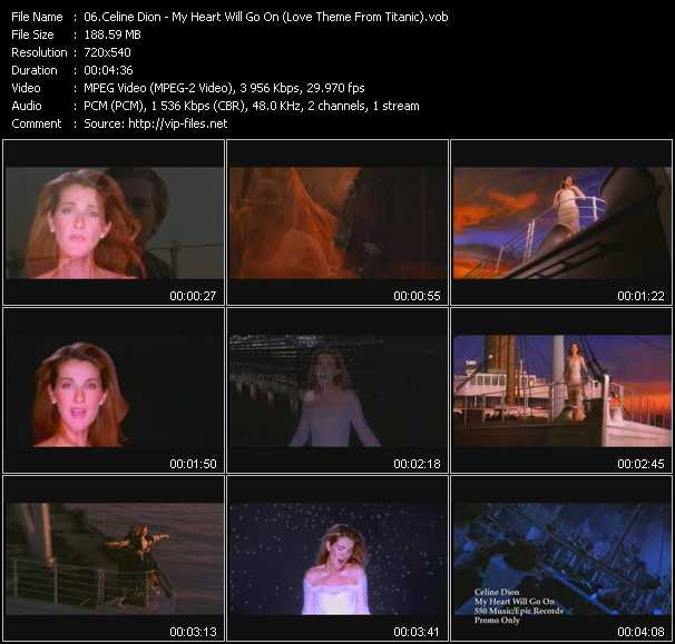 Download Celine Dion My Heart Will Go On: My Heart Will Go On Love Theme From Titanic