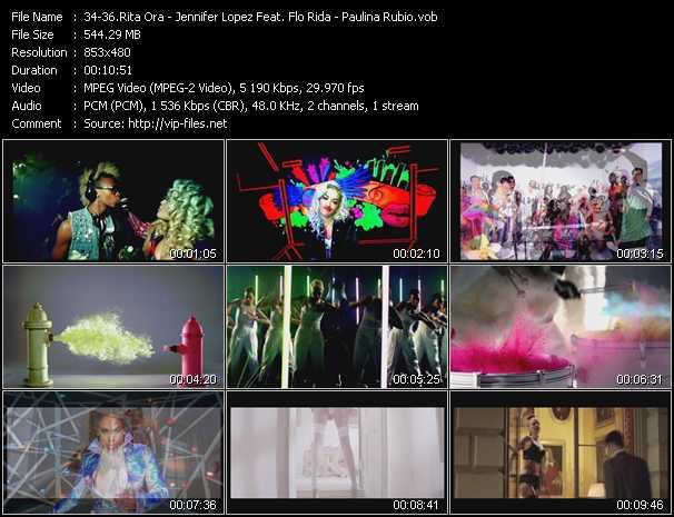 Rita Ora - Jennifer Lopez Feat. Flo Rida - Paulina Rubio video vob