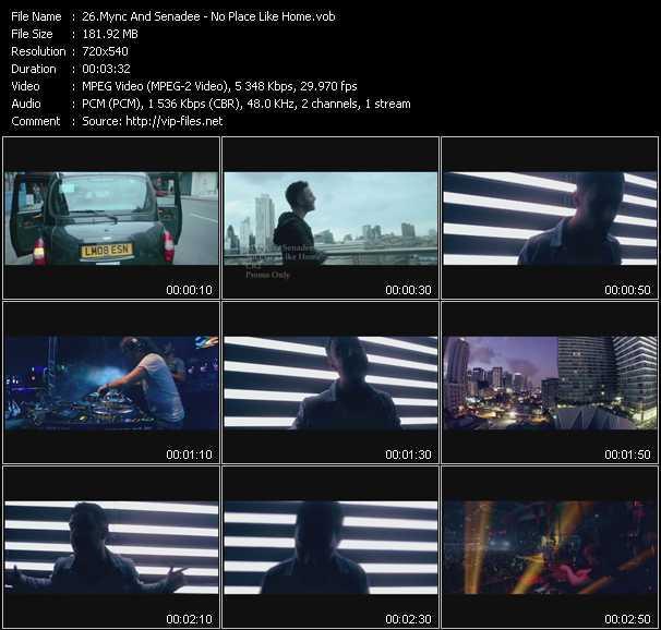 Screenshot of Music Video Mync And Senadee - No Place Like Home