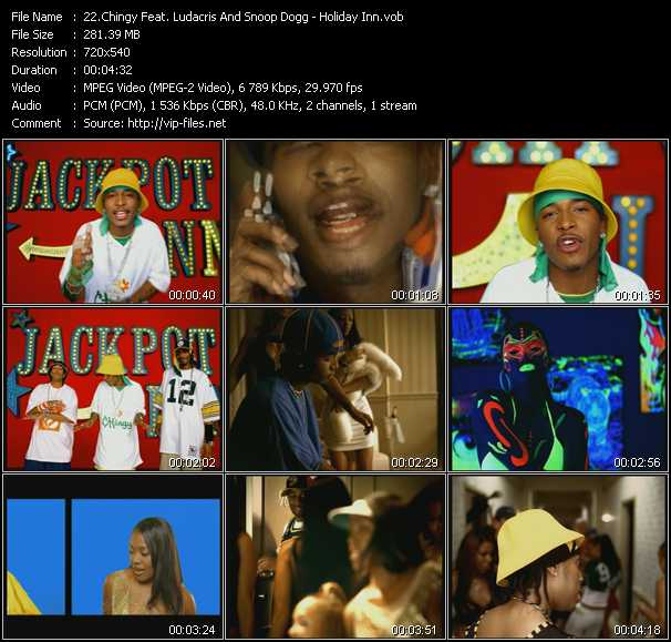 Chingy- Holiday Inn (Ft Snoop Dogg) Lyrics - video dailymotion