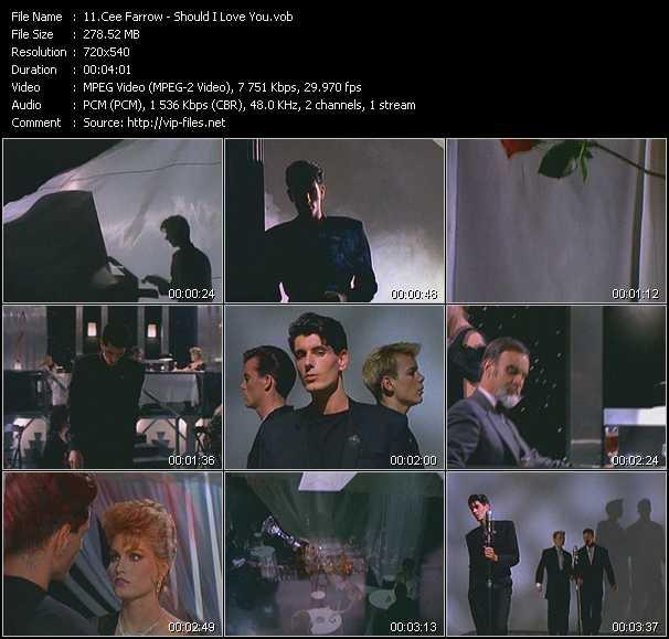 Screenshot of Music Video Cee Farrow - Should I Love You