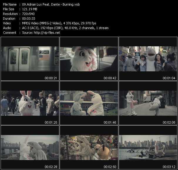Adrian Lux Feat. Dante (Dante Kinnunen) video vob